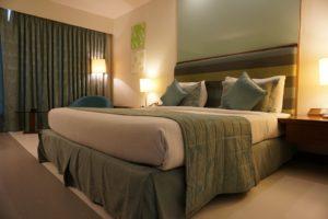 book a hotel room