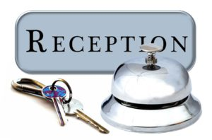 hire a receptionist