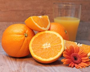 is orange juice good for your eyes