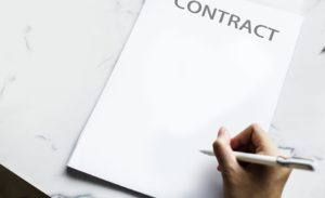 kinds of contract